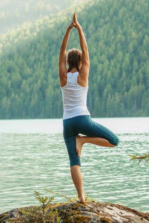 Yoga Vriksasana — L'Arbre