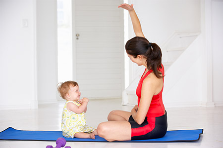Yoga Postanatal Yoghamsa